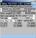 BT747 Screenshot